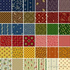 Say hello to Party of Twelve, Judie Rothermel's colorful new collection for @Marcus Fabrics!