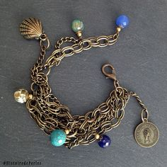 Oh how I love to mix semiprecious stones with reclaimed chains to make something new ! statement jewelry upcycled one-of-a-kind pièce unique Statement Jewelry, Costume Jewelry, Chains, Jewelry Accessories, Stones, Detail, My Love, Instagram, Bracelets