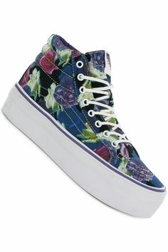 #shoes #vans #desing Vans Sk8-Hi Platform Schuh
