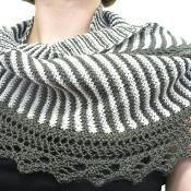 sencillo shawl - via @Craftsy