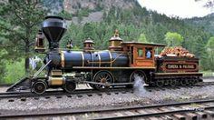 Eureka N° 4 is a 4-4-0 American built by Baldwin Locomotive Works in 1875. This beautiful vintage narrow gauge steam locomotive spans three centuries!