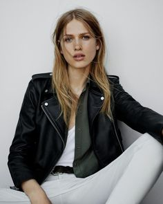 AllSaints August 2015 Lookbook | Laura Julie by Matteo Montanari