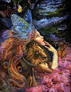 Cobble Hill Puzzles doesn't do fantasy puzzles like these, but they are really pretty. Josephine Wall fantasy artist series by Ceaco. Josephine Wall, Fantasy Kunst, Fantasy Art, Art Expo, Oracle Cards, Fairy Land, Fantasy World, Faeries, Mystic