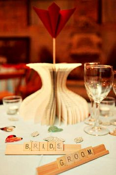 ReFab Diaries: DIY: With carefully crafted words, I thee wed  I am starting to fall in love with the paper flowers Idea!