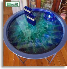 lite sammenleggbart bord | FINN.no lite sammenleggbart bord laget av metall. dekorert handmade med epoxy resin Høyde (cm)51 Bredde (cm)47    #epoxy #eposyresin #resin #epoxyfill #molde #moldemaleri #эпоксидка #эпоксиарт #эпоксиднаясмола