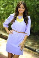 Smells Like Lavender Dress: Light Purple
