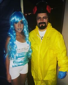 breaking bad couple diy more heisenbergbreaking badhalloween costume - Halloween Costume Breaking Bad