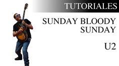 Aprende a tocar Sunday Bloody Sunday de U2 en la guitarra