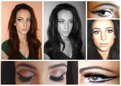 Makeup look inspired by 60s :)
