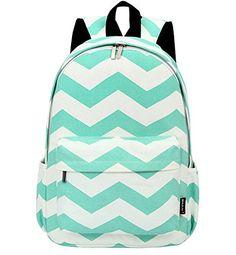 "West Beauty Causal Lightweight Canvas Cute Backpacks Notebook Computer 15"" Laptop School Rucksack Daypack Backpack (Green)"