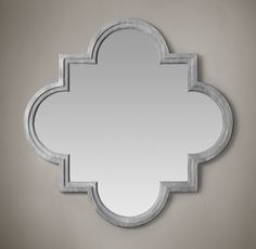 Decor Look Alikes | Restoration Hardware Weathered Zinc Single Fez Mirror $995 vs $499 @Z Gallerie
