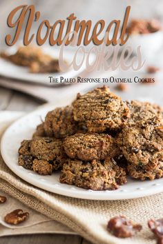 N'Oatmeal Cookies   by Sonia! The Healthy Foodie