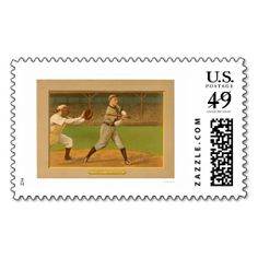 Frank Chance Cubs Baseball 1911 Stamp. Wanna make each letter a special delivery? Try to customize this great stamp template and put a personal touch on the envelope. Just click the image to get started!