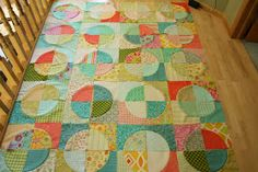 "GREAT quilt! Needs Elisa's Backporch 7"" template set"