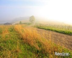 A misty morning at Wisconsin's Horicon Marsh: One of the photos in our new Wisconsin desktop image collection.