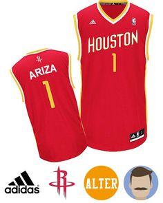 679a0b5fdeea Men s Trevor Ariza  1 Red Swingman Alternate Jersey