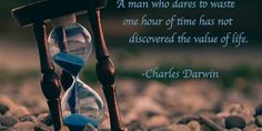 Darwin quote: A man who dares…