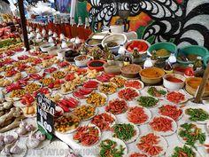Street Market in Flamengo, Rio de Janeiro..