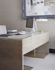 CEO office // Karen Howes office // Taylor Howes // Cheval Place // Bespoke furniture by Decca London