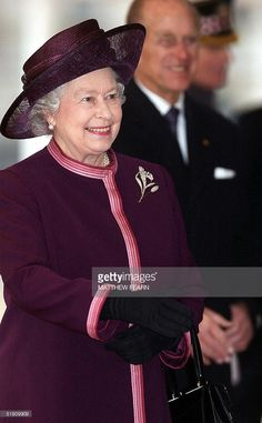 Britain's Queen Elizabeth II and the Duke of Edinburgh arrive at London's Horseguards Parade, 01 December, 2004 prior to the arrival of President Roh Moo-hyun of South Korea for a state visit.