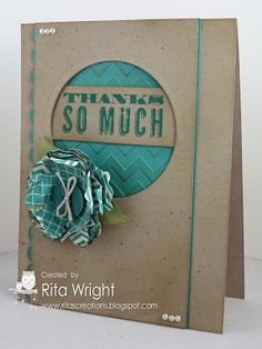 Rita's Creations: Stampin' Up! Oh Hello