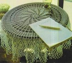 Crochet Tablecloth Star