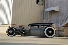 low and long hot rod