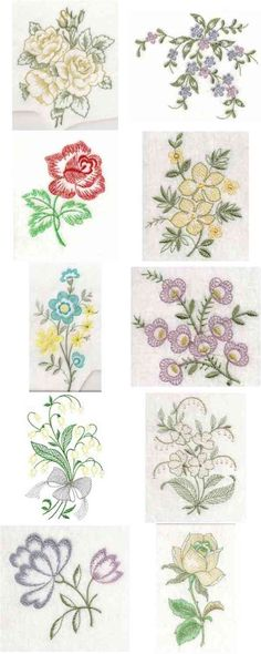 Open Work Florals Embroidery Machine Design Details
