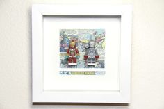 Custom framed Minifigures ✿
