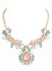 Pink Jewel of Bodrum Necklace