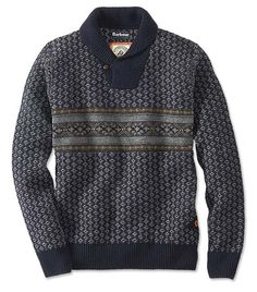 Just found this Fair+Isle+Winter+Pullover+Sweater+-+Barbour%26%23174%3b+Baker+Shawl-Neck+Sweater+--+Orvis on Orvis.com!