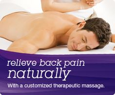 Visit Massage Envy Spa Diamond Bar to relieve back pain naturally with our massage treatments
