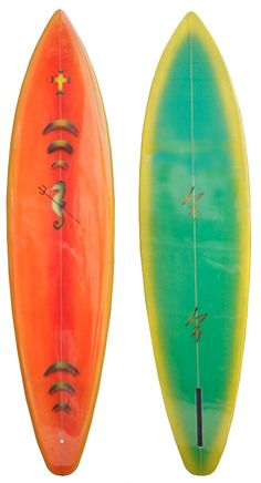 """Surfboard made for """"Lords of Dogtown"""" Shaped by Scott Anderson, Airbrushed by Craig Stecyk"""