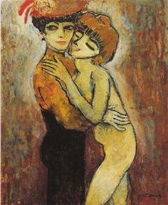 Amies, 1908 - Kees van Dongen (Dutch, 1877-1968) Fauvism