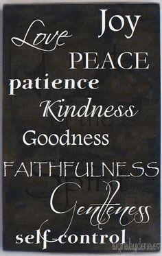 fruit of the spirit, pinterest | Fruit of the Spirit - GALATIANS 5:22-23 | Things I Love