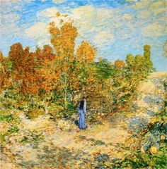 New England Road by Childe Hassam 1902