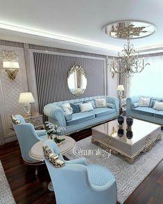 Stunning Ideas To Decorate Stylish Living Room Living Room Sofa Design, Home Living Room, Living Room Designs, Living Room Decor, Home Decor Furniture, Furniture Design, Elegant Living Room, Luxury Living, Room Interior