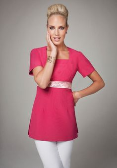 a premier supplier of workwear for the beauty, spa, pharmacy & hospitality industries. Salon Uniform, Spa Uniform, Scrubs Uniform, Uniform Ideas, Salon Wear, Corporate Uniforms, Work Uniforms, Clothing Labels, Textiles