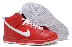 the best attitude 071eb 5988c Man Nike Dunk SB High Red-White 321762 601