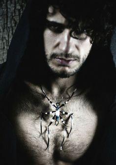 Mario Salvucci Praying Mantis necklace