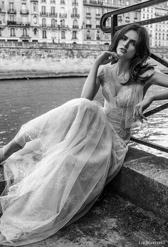 liz martinez 2018 bridal thin strap sweetheart neckline full embellishment tulle skirt romantic soft a  line wedding dress (14) zv -- Liz Martinez 2018 Wedding Dresses