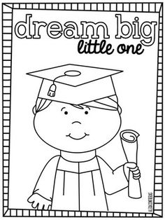 Dream Big Little One {Graduation FREEBIE in English and Spanish}