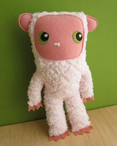 Get Ready its Pink Yeti by plantsandanimals on Etsy