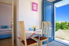 Double/Twin Studio with Private Balcony (No - Anemomiloi Andros