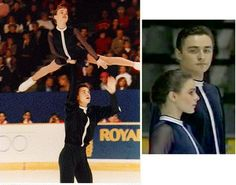 here: Ekaterina Gordeeva and Sergei Grinkov, one of the greatest ice dance pairs ever Ice Skating, Figure Skating, Sergei Grinkov, Moonlight Sonata, Ice Dance, Beautiful Figure, Ex Husbands, The Good Old Days