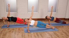 Get ready for a focused Pilates workout that will tighten your entire body, while strengthening your core.