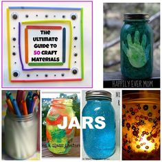 The Ultimate Guide to Jar Crafts - Happily Ever Mom