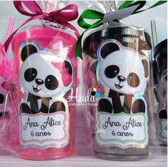 Inspire sua Festa ® | Blog sobre festas e maternidade 30th Birthday Party Themes, Panda Birthday Party, Panda Party, 11th Birthday, Birthday Decorations, Birthday Ideas, Panda Themed Party, Cute Panda Cartoon, Panda Baby Showers