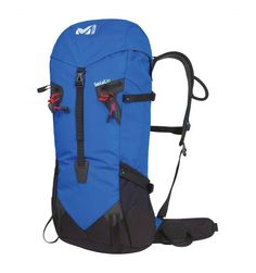 Triolet 30  Millet mountain backpack for alpinism.  Technical, lightweight, mountain backpack for all-season modern mountaineering. Ergonomic back system offers total ease of movement.