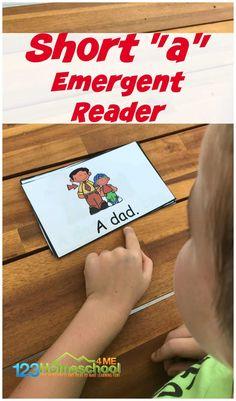 FREE Short a Words Emergent Reader